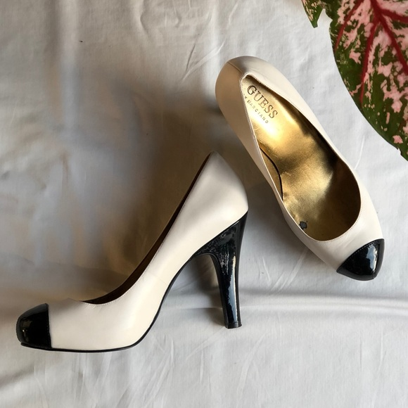 f692ac32aaaf Guess by Marciano Shoes - GUESS Black and White Heels